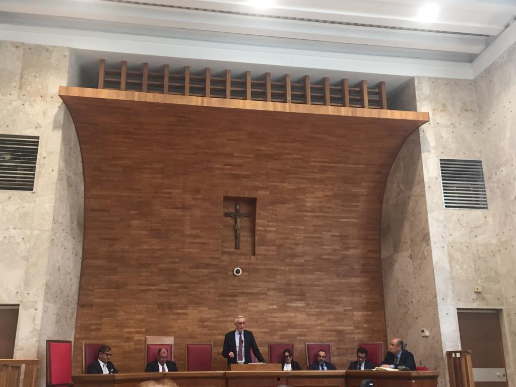 10 Ottobre 2019. Palazzo di Giustizia. Assemblea della Camera Penale di Palermo.